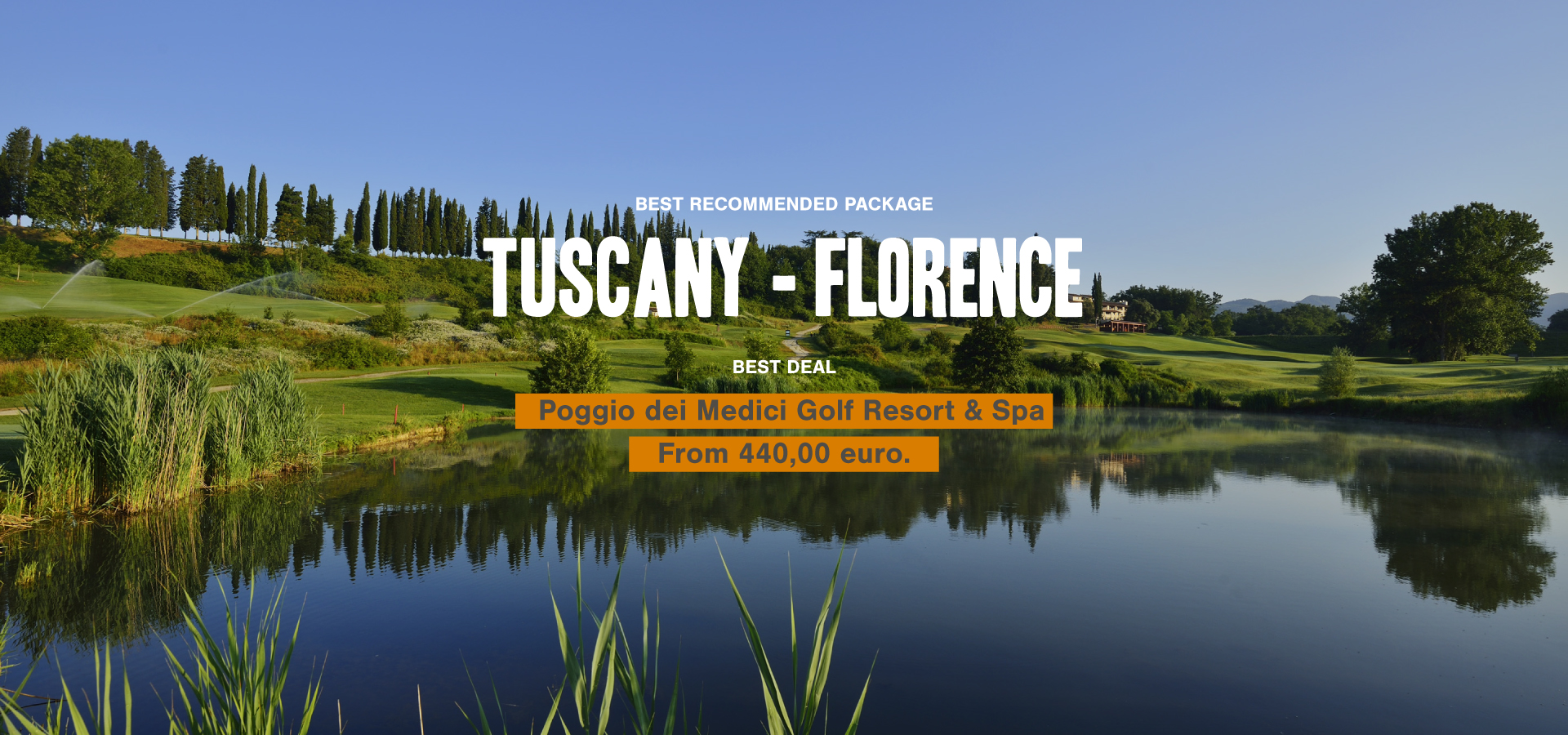 Italy Golf | Tuscany Florence | Golf Italien